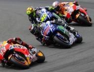 Marc Márquez Jorge Lorenzo Valentino Rossi Dani Pedrosa MotoGP Indianápolis 2015 - Motorbike Magazine