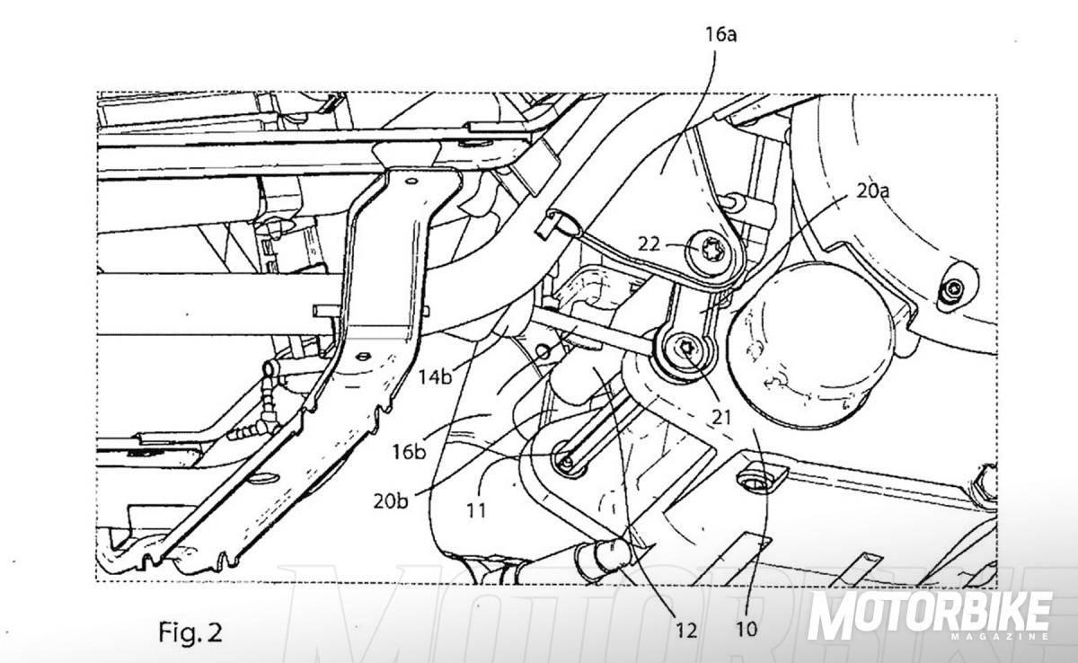 Un amortiguador trasero diferente a lo que hemos visto hasta ahora en los scooter BMW.