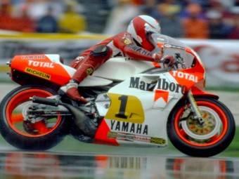 Yamaha Wall Fame Eddie Lawson