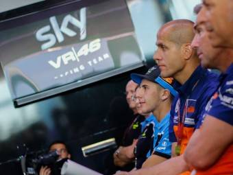 Presentación Sky VR46San Marino 20155