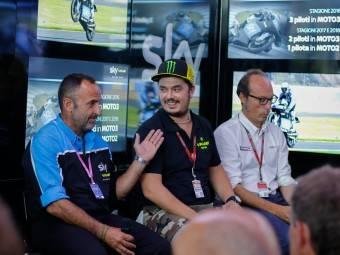 Presentación Sky VR46San Marino 20151
