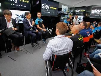 Presentación Sky VR46San Marino 20154