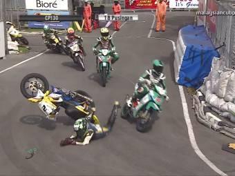Caidas moto campeonato malayo 2014 03