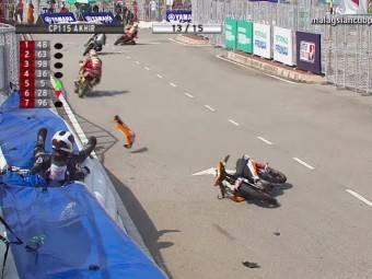 Caidas moto campeonato malayo 2014 05