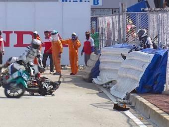 Caidas moto campeonato malayo 2014 06