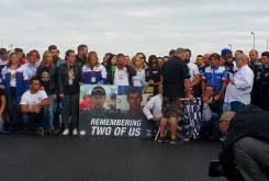 Homenaje Dani Rivas Bernat Martinez FIM CEV Albacete
