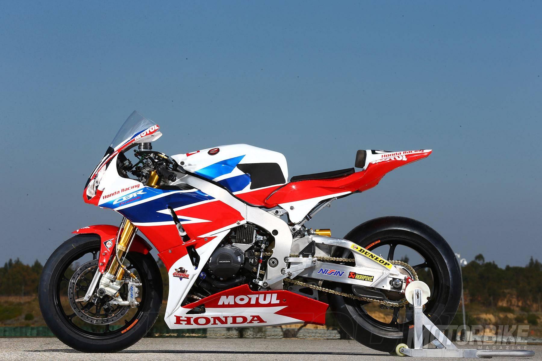 Las Honda CBR1000RR y Honda RVF1000 se presentarán a finales de 2016 ...