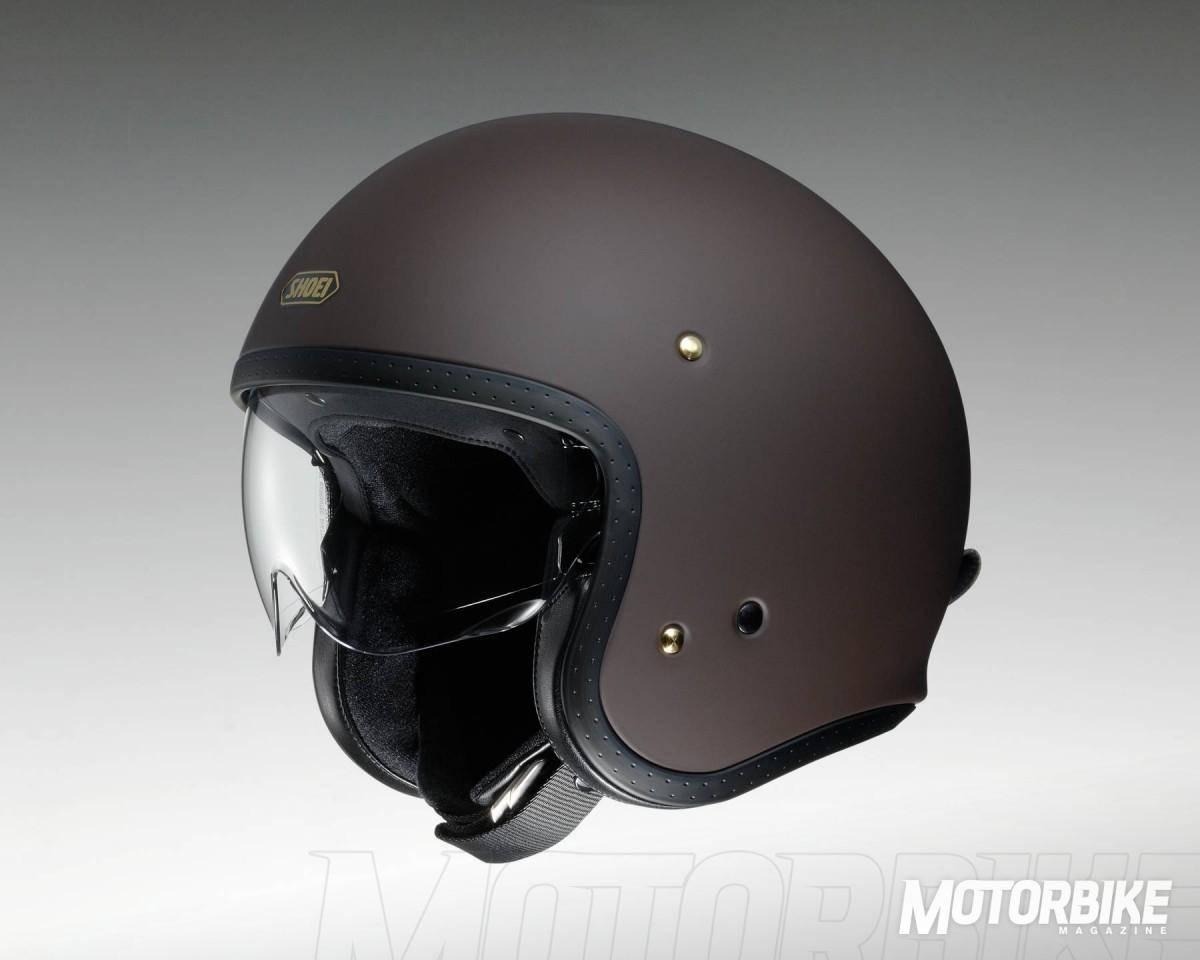 Nuevo casco SHOEI J.O Marrón