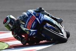 Jorge Lorenzo Movistar Yamaha MotoGP Misano 2015 - Motorbike Magazine