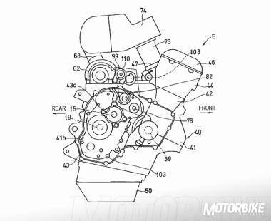 Patente Kawasaki Ninja S2 Turbo