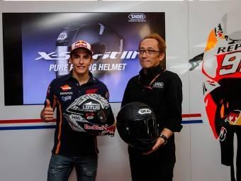 MotoGP Aragón 2015 Casco Márquez 12