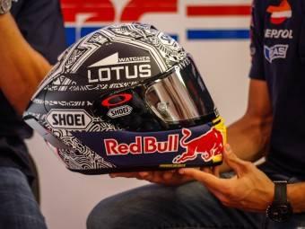 MotoGP Aragón 2015 Casco Márquez 2