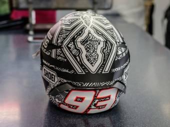 MotoGP Aragón 2015 Casco Márquez 3