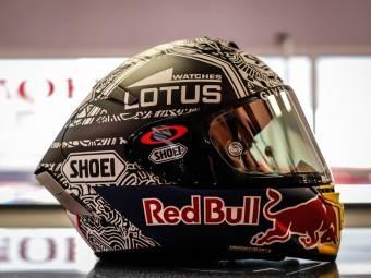 MotoGP Aragón 2015 Casco Márquez 4