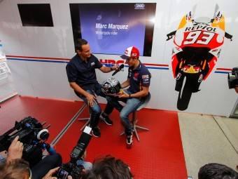 MotoGP Aragón 2015 Casco Márquez 8