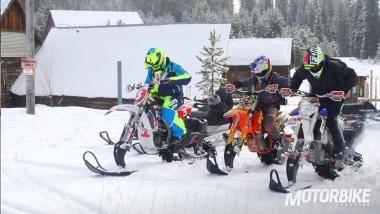 Red Bull Snow Bike