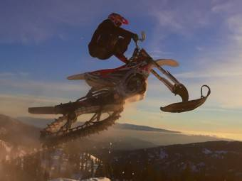 Red Bull Snow Bike