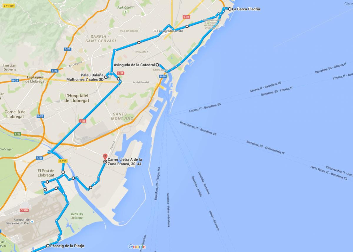 Ruta Barcelona DGR 2015