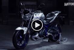 Video Yamaha MT-03 2016