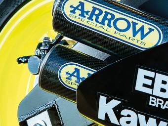 Kawasaki ZX3 RR 6
