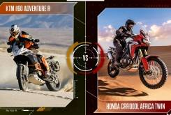 Face to Face: 1190 Adventure vs. Africa Twin