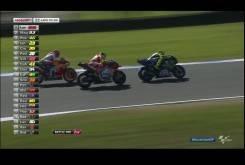 MotoGP Australia 2015 - Batalla Rossi Ianne Marquez
