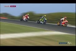 MotoGP Australia 2015 - Marquez, Rossi y Iannone,