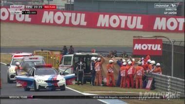 Alex de Angelis accidente Japon MotoGP