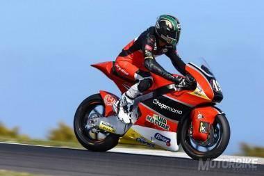Axel Pons AGR Team Moto2 Australia 2015 - Motorbike Magazine