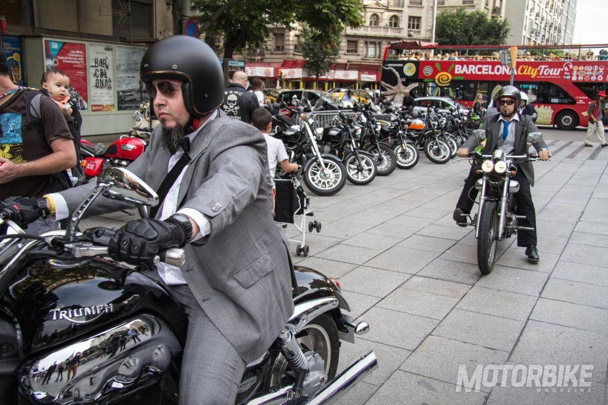 Distinguished Gentleman's Ride 2015 Spain_Barcelona