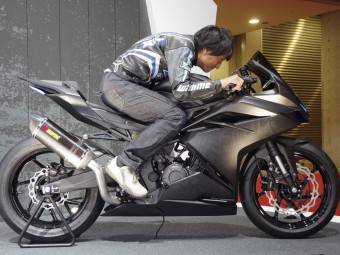 Honda CBR300RR 2016 Tokio 03