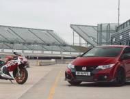 Honda Civic Type R vs. Honda CBR1000RR SP 20