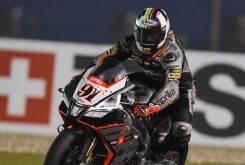 Leon Haslam Aprilia WSBK Qatar 2015 - Motorbike Magazine