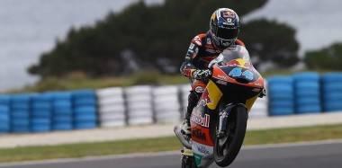 Miguel Oliveira Red Bull KTM Ajo Moto3 Australia 2015 - Motorbike Magazine