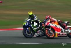 MotoGP Malasia 2015 Rossi Marquez