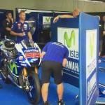 Muro Yamaha MotoGP Rossi Lorenzo