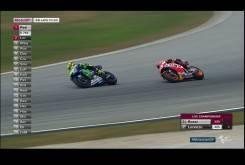 Rossi Marquez 2015 MotoGP Malasia Carrera01
