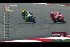 Rossi Marquez 2015 MotoGP Malasia Carrera02