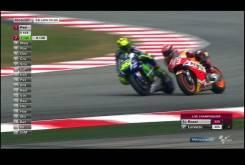 Rossi Marquez 2015 MotoGP Malasia Carrera03
