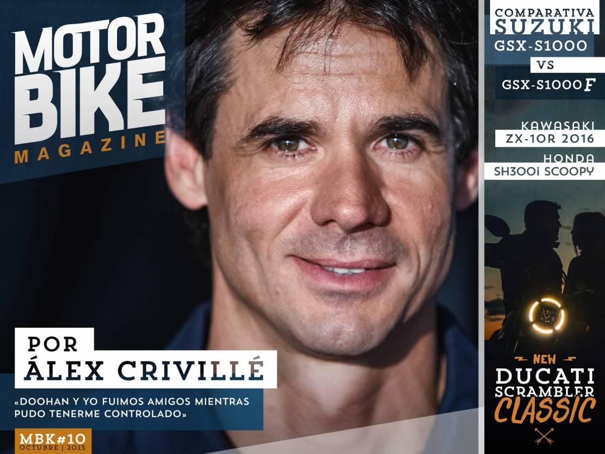 Portada - Álex Crivillé