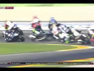 Caida Salida Moto2 Valencia 2015 12