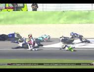 Caida Salida Moto2 Valencia 2015 15