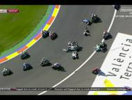 Caida Salida Moto2 Valencia 2015 6