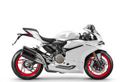 Ducati 959 Panigale blanco 2016