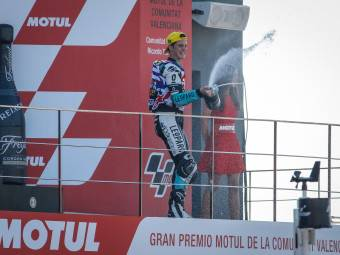 Moto3 Valencia Kent campeón 1