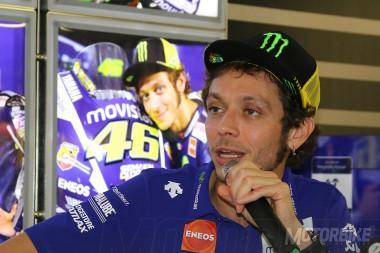 Valentino Rossi Declaraciones MotoGP Valencia 2015