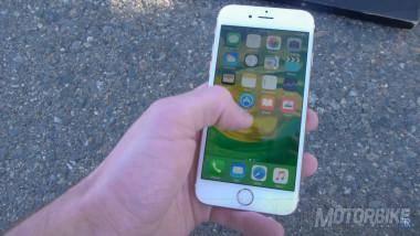 iPhone 6S Plus Burnout motorbike
