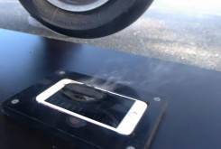 iPhone 6S Plus Burnout motorbike
