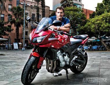 Albert Rivera Yamaha FZ1 Fazer
