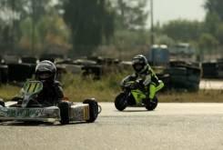 Fast Racer Kids Kart vs Minimoto 20